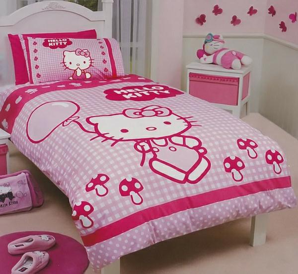 Bettw sche in rosa 53 attraktive vorschl ge - Hello kitty babyzimmer ...