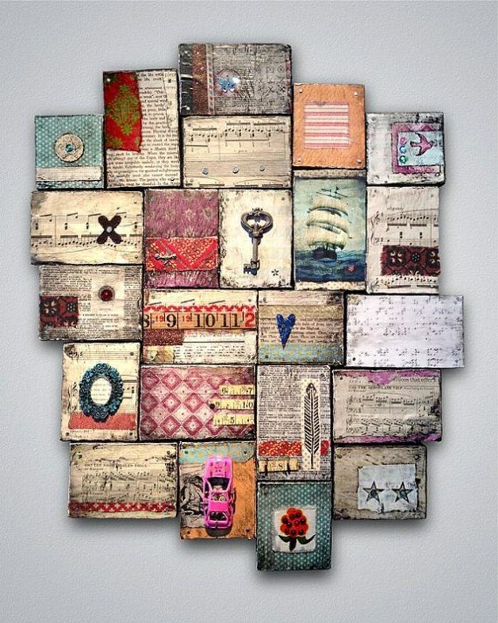 Wanddeko holz selber machen  40 verblüffende Ideen für Wanddeko aus Holz - Archzine.net