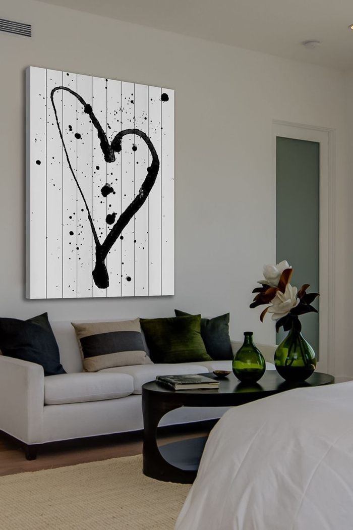40 verbl ffende ideen f r wanddeko aus holz. Black Bedroom Furniture Sets. Home Design Ideas