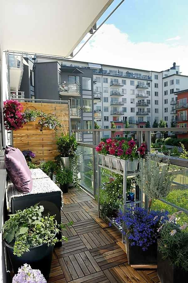 holzfliesen-für-balkon-interessante-pflanzenarten