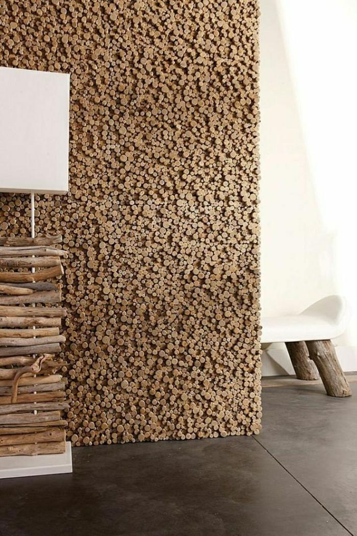 holzverkleidung-wandgestalung-holz Wandverkleidung aus Holz