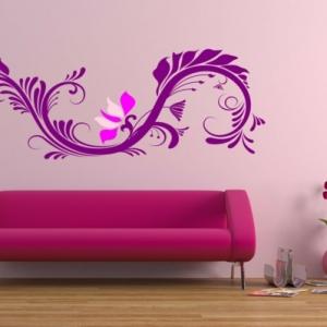 Rosa Wandfarbe - 25 super schöne Beispiele!