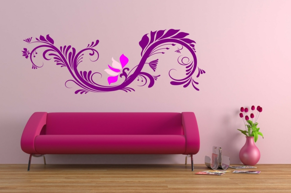 inspiration-wände-in-rosa-rosa-wand-