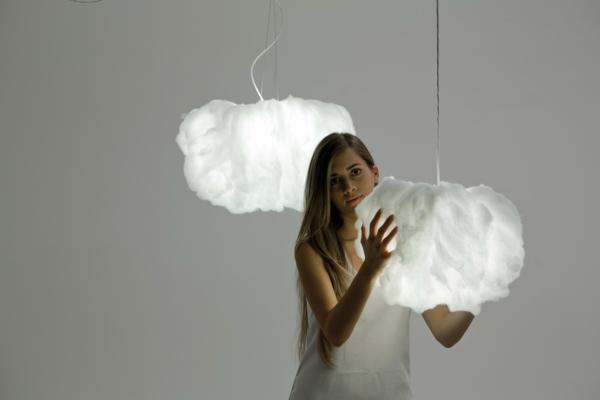 interessante-lampen-wie-weiße-wolken-aussehen