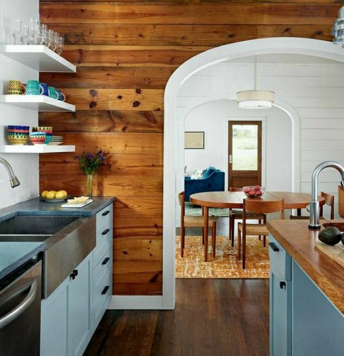 Relativ Wandverkleidung aus Holz - 95 fantastische Design Ideen - Archzine.net LQ56