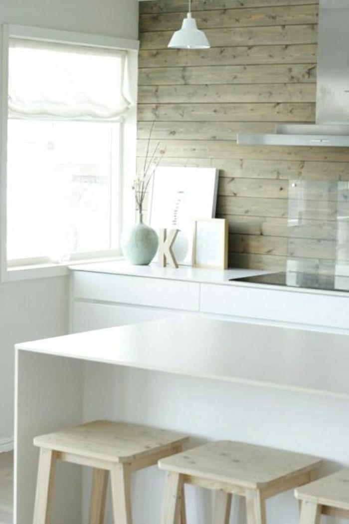... Kuchen Barhocker Wandverkleidung Aus Holz 95 Fantastische Design Ideen  Archzine Net ...