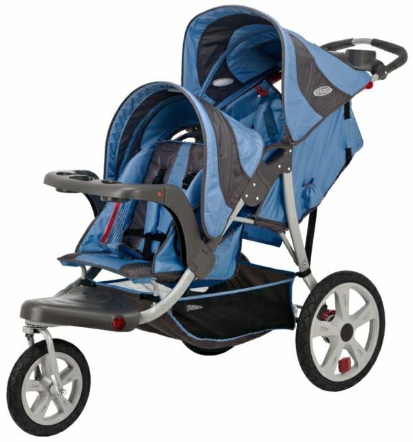 Kinderwagen für Zwillinge - 33 tolle Modelle! - Archzine.net