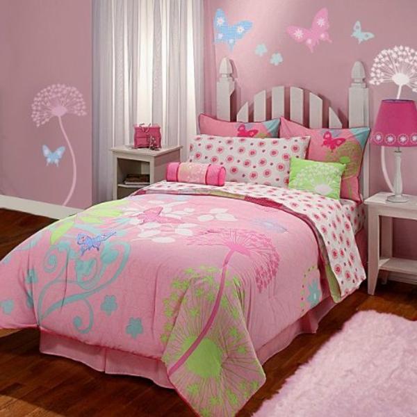 -kinderzimmer-einrichten-mädchenzimmer-ideen-bettwäsche-rosa-bettwäsche-kinder-bettwäsche-schöne-bettwäsche-bettwäsche-set