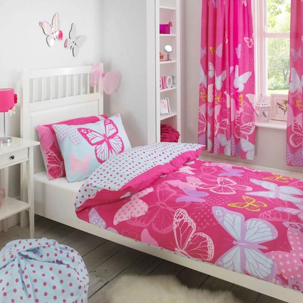 kinderzimmer-gestalten-mädchenzimmer-baby-bettwäsche-rosa-bettwäsche-kinder-bettwäsche-schöne-bettwäsche-bettwäsche-set Bettwäsche in Rosa