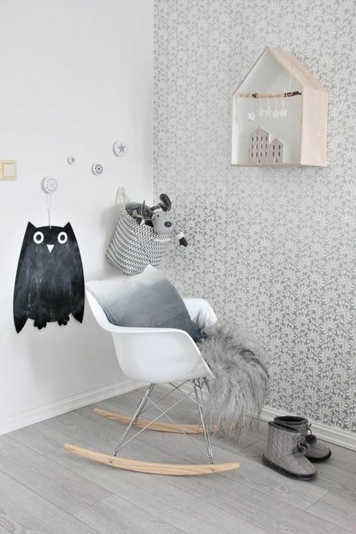 Tapete In Grau U2013 Stilvolle Vorschläge Für Wandgestaltung ...