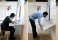 Klapptisch für Wand – praktische Ideen für kleine Räume