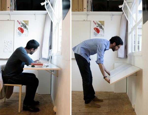 -klapptische-moderne-wohnideen-klapptisch-holz-wohnideen-Klapptisch für Wand