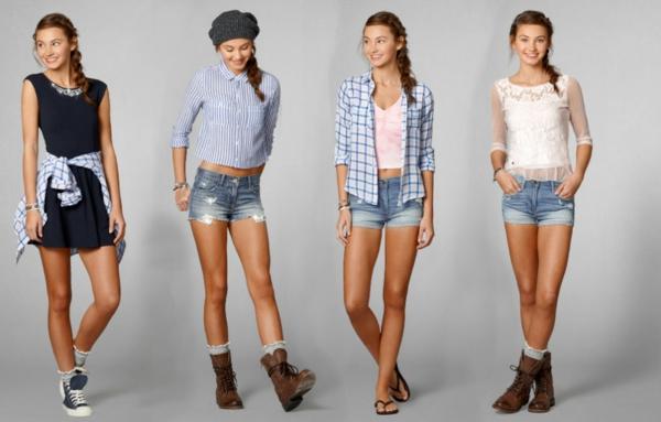 kleider-für-jugendliche-schön-aussehende-junge-frauen