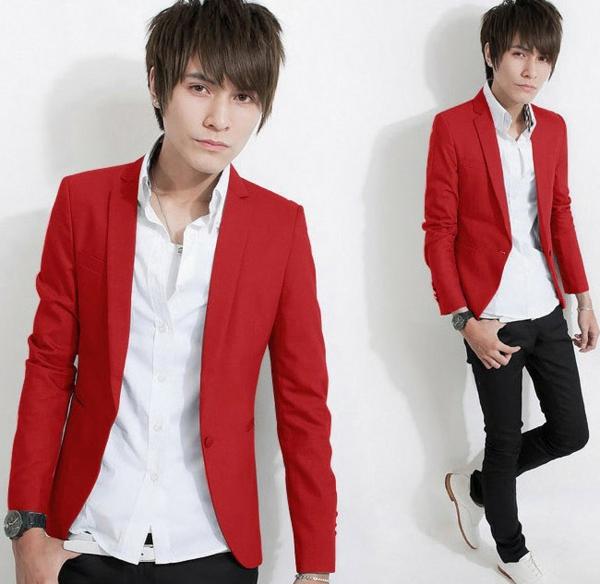 kleider-für-jugendliche-super-modernes-aussehen - sakko in roter farbe