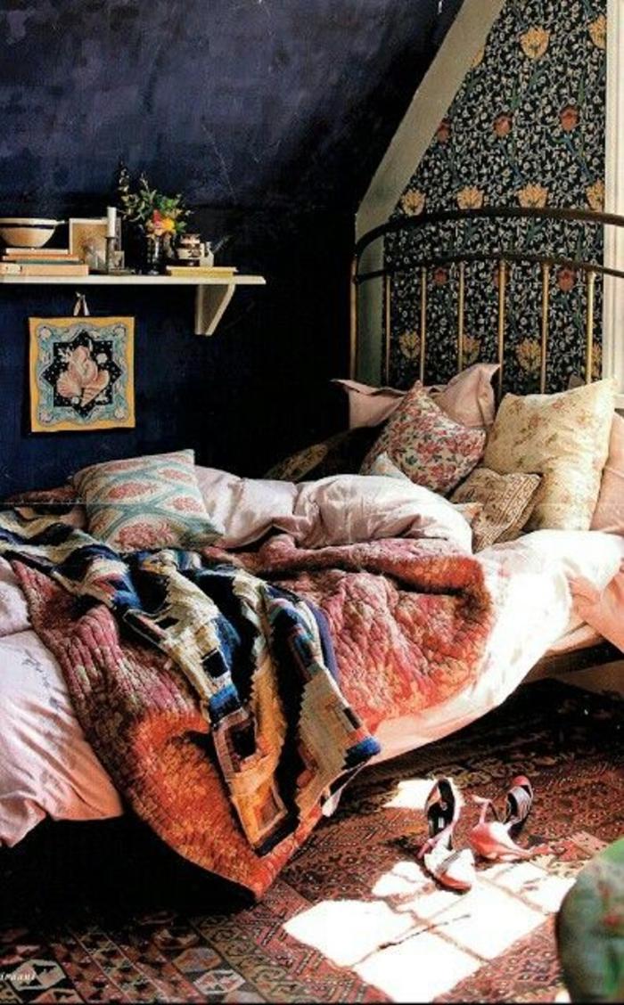 20 Bilder Schlafzimmer Ideen in Boho Chic Stil   ArchZine