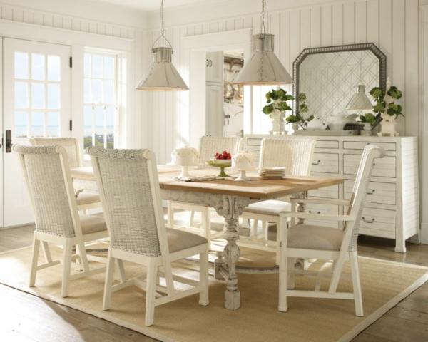 Korbstühle Esszimmer mit tolle design für ihr haus design ideen