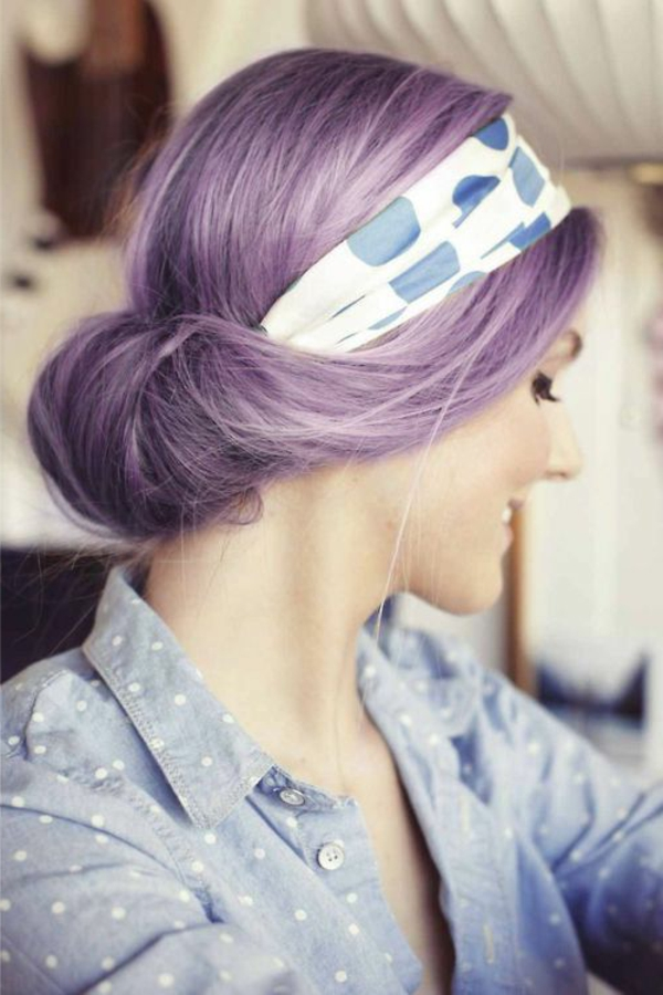 lila-haare-sehr-interessante-farbe - tolles aussehen