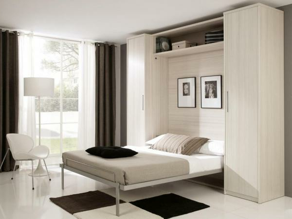 klappbett 50 praktische raumsparende ideen. Black Bedroom Furniture Sets. Home Design Ideas