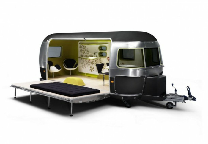 52 super praktische mini wohnwagen. Black Bedroom Furniture Sets. Home Design Ideas