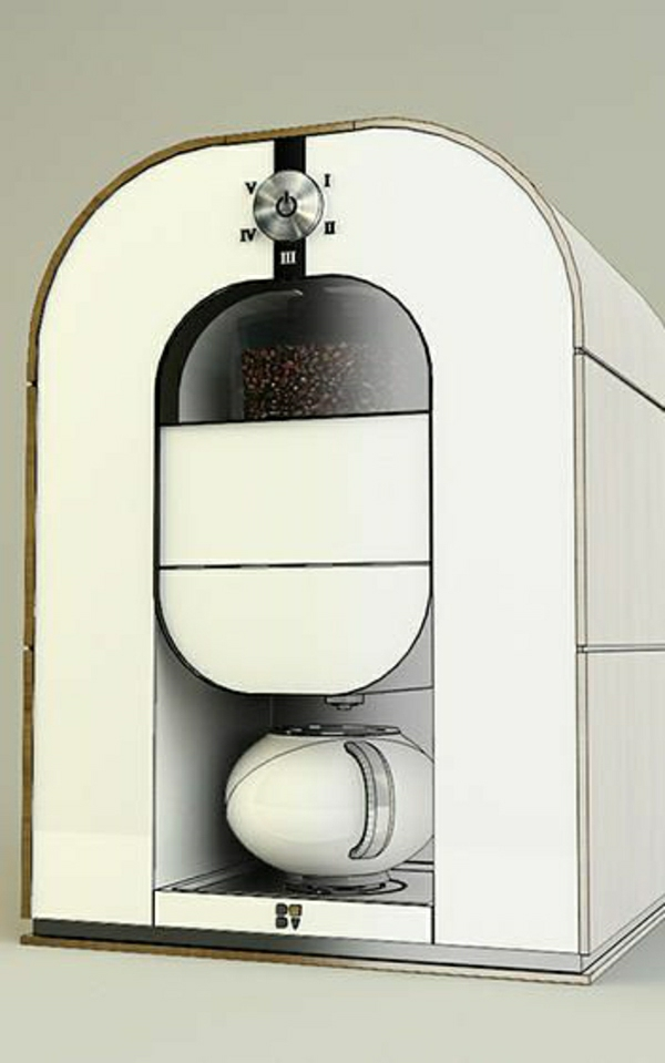 moderne-All-in-one-Kaffeemaschine