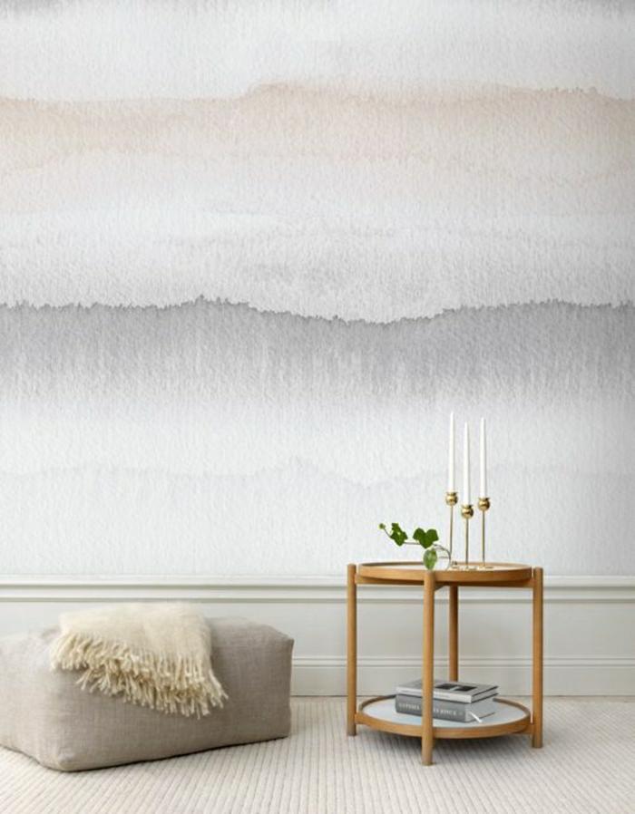 moderne-Tapeten-verschmelzende-Farben