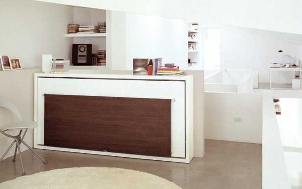 moderne einrichtungsideen raumsparend kleine wohnungen. Black Bedroom Furniture Sets. Home Design Ideas