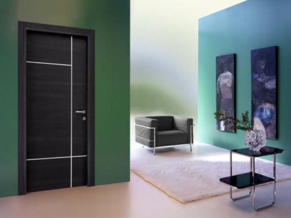 moderne-haustüren-grüne-für-wände