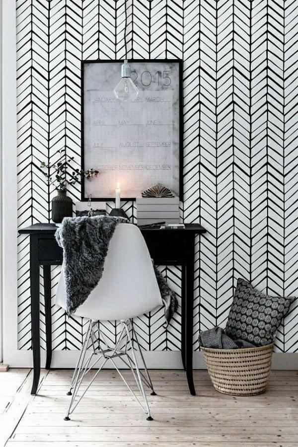modernes-design-tapeten_in-schwarz-weiß