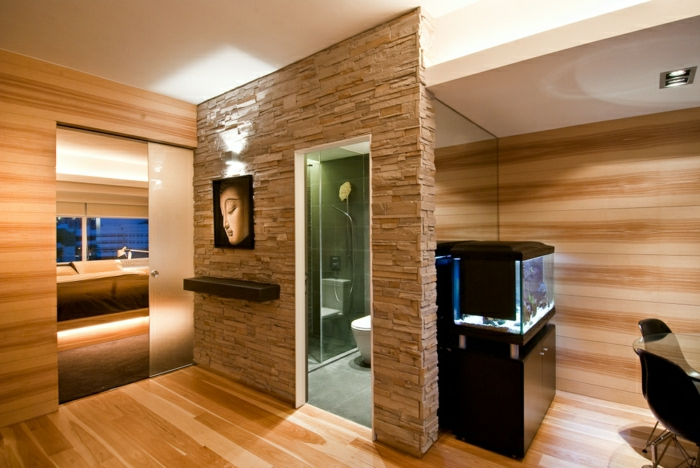 modernes-design-wohnzimmer-wandgestaltung-holz-schöne-wände ...