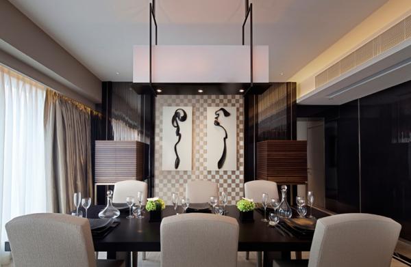 Indirekte Beleuchtung Esszimmer Modern ~ Interieurs Entwerfen ... Esszimmer Indirekte Beleuchtung