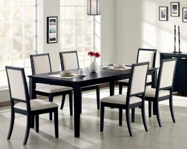 modernes-esszimmer-interessante-weiße-stühle