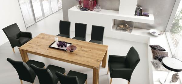 schwarze hölzerne stühle | möbelideen, Esszimmer dekoo