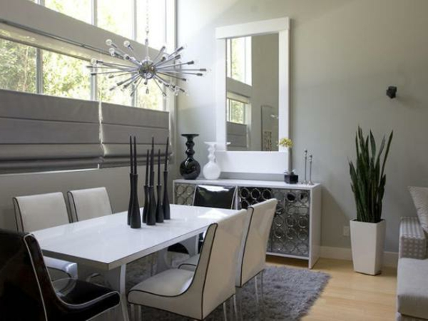 modernes-esszimmer-weiße-stühle-cooles-aussehen