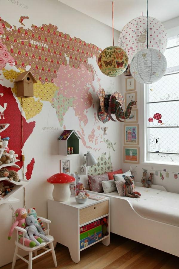 modernes-kinderzimmer-tapeten-kinderzimmer-gestalten-kinderzimmer-ideen-schöne-tapeten Kinderzimmer Tapete