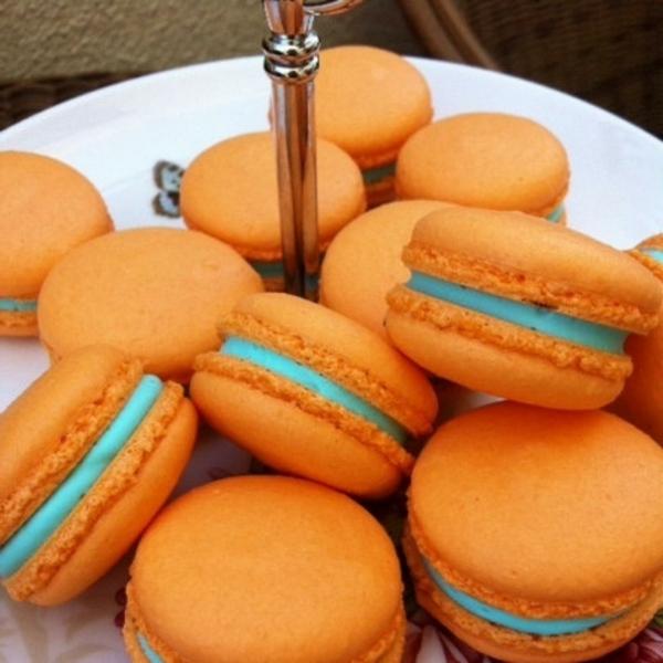 orange-macarons-gesunde-frühstücksideen-leckeres-frühstück-gesundes-frühstück-rezepte-