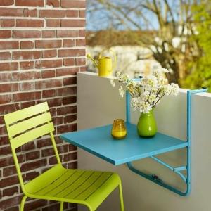 Klapptisch für Balkon - eine fantastische Idee !