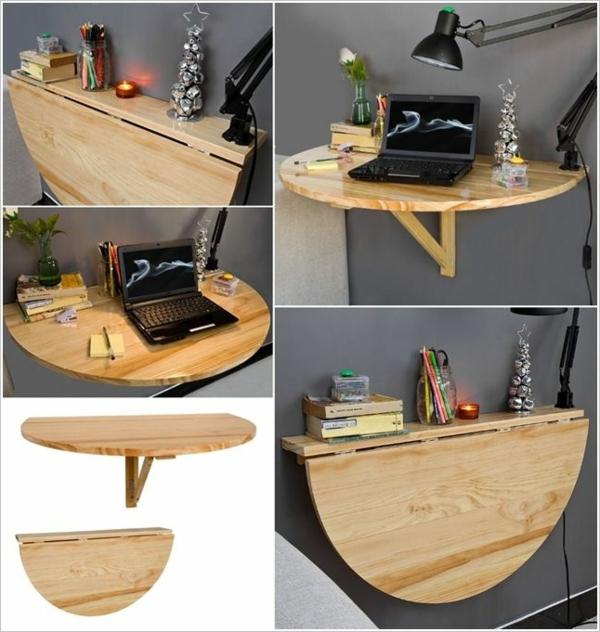 ---raumsparende-ideen-für-die-wohnung-klapptisch-holz-klapptisch-klapptische-wandklapptisch- laptop-tisch