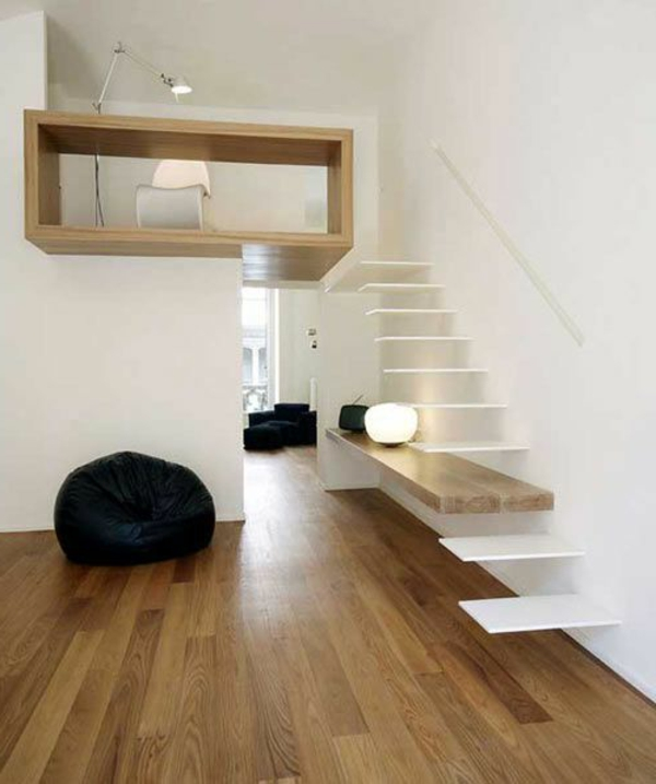 moderne treppe bucherregal, regal als treppe. perfect ikea trofast regal treppe massive kiefer, Design ideen