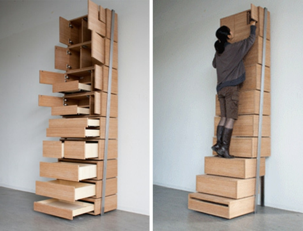 treppe idee schublade. Black Bedroom Furniture Sets. Home Design Ideas