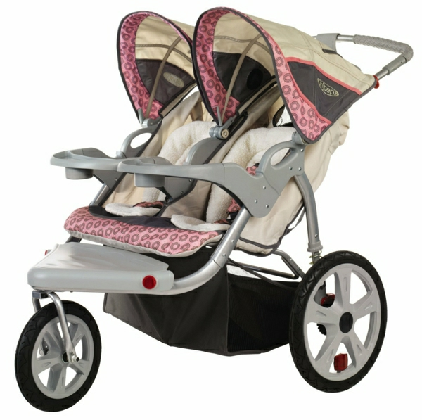 rosa-kinderwagen-buggy-kinderwagen-babywagen-kinderwagen-günstig-baby-kinderwagen-zwillinge