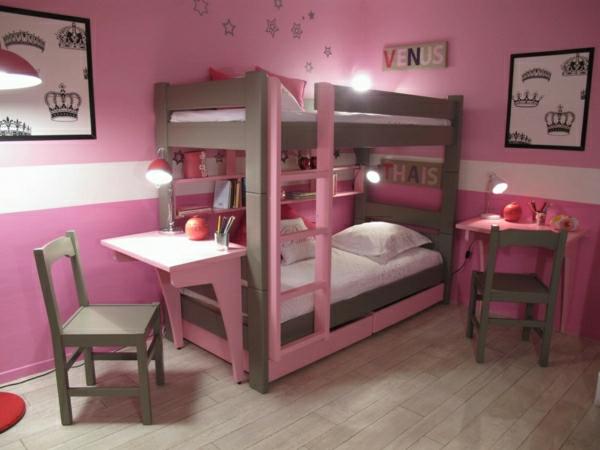 Babyzimmer gestalten wände rosa  Rosa Wandfarbe - 25 super schöne Beispiele! - Archzine.net