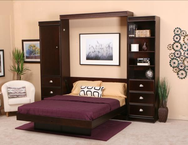 --schöne-einrichtungsideen-raumsparend-kleine-wohnungen-klappbett