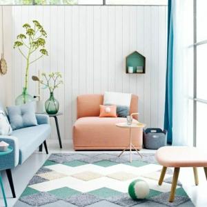 Pastell Farbpalette bei der Inneneinrichtung - 47 Ideen