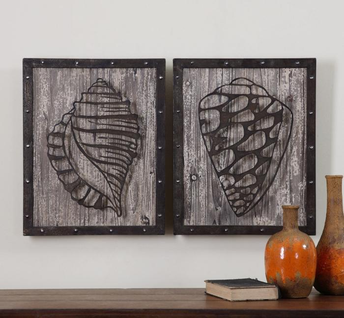 40 Verblüffende Ideen Für Wanddeko Aus Holz ...