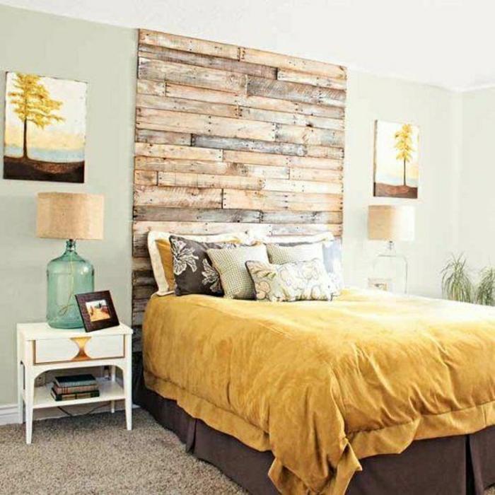 schöne-schlafzimmer_wandgestaltung-holz-schöne-wände-wohnzimmer-wandgestaltung
