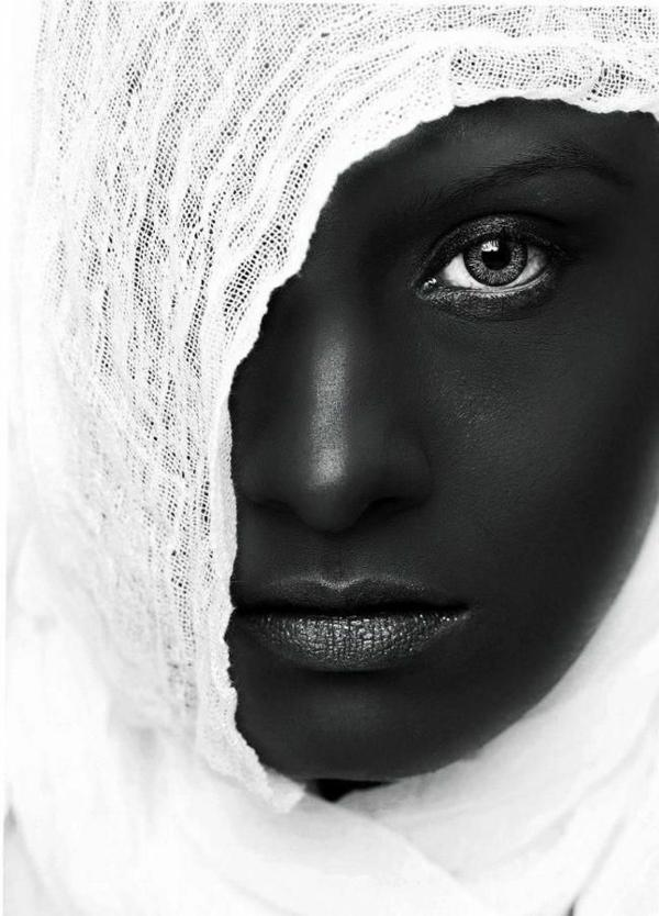 schöne-schwarz-weiß-Fotografie-Schleier
