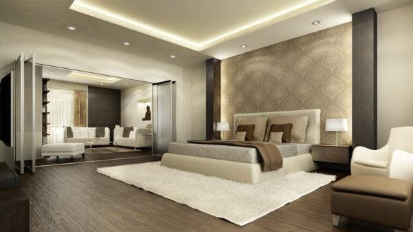 schöne-wandgestaltung-schlafzimmer-wohnideen-schlafzimmer-wandfarbe-schlafzimmer-schlafzimmer-wandfarbe