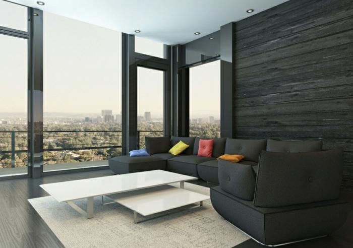 wandverkleidung aus holz 95 fantastische design ideen. Black Bedroom Furniture Sets. Home Design Ideas