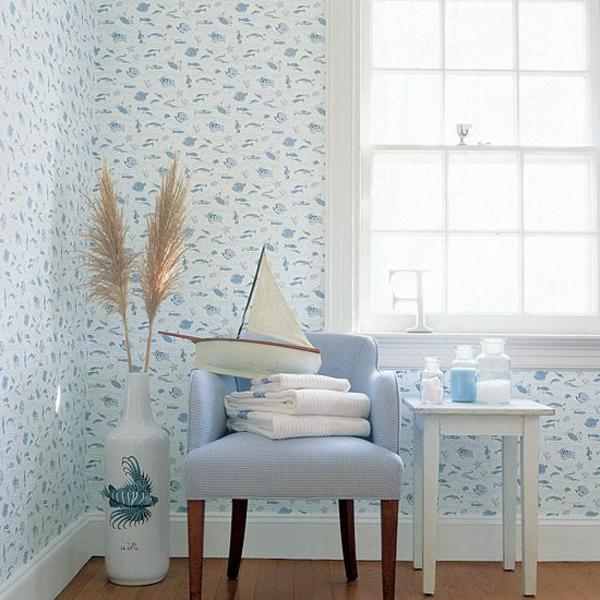 schönes-design-tapeten-ideen-designer-tapeten-mit-fischen-tapeten-design-badezimmer