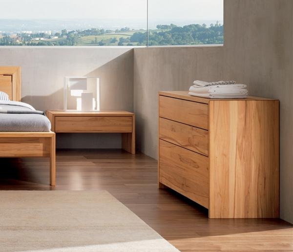Braune Wandfarben Schlafzimmer Bett A Brauntane Als Wie: Schlafzimmer Aus Massivholz: 86 Interieurs